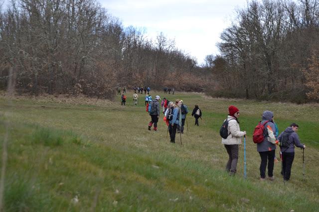 Ruta de senderismo realizada en campos de Aliste y Trás os Montes