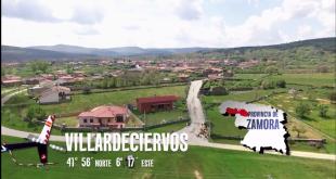Jesús Calleja volando por Zamora